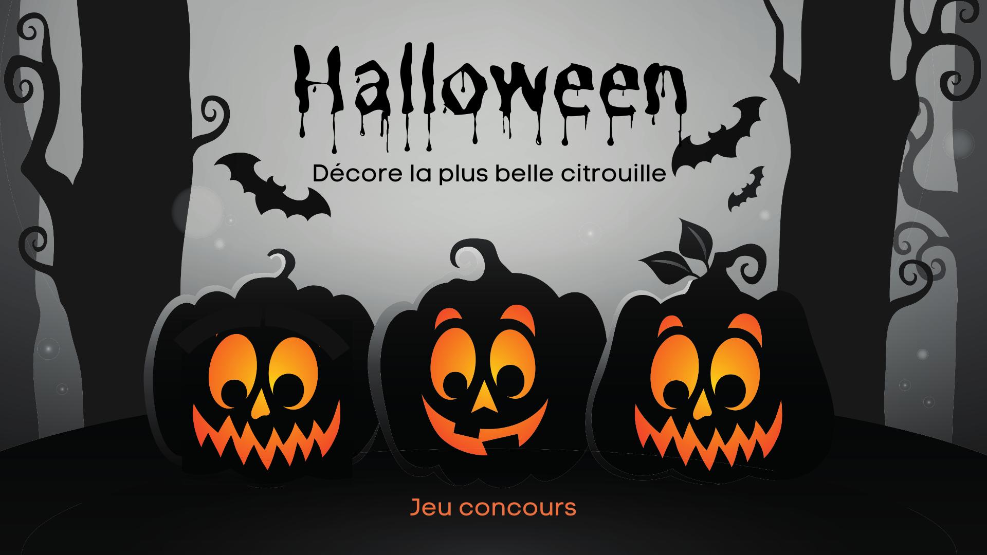 Concours de citrouilles – Halloween 2021 🎃