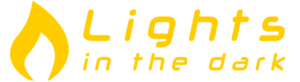logo lights in the dark