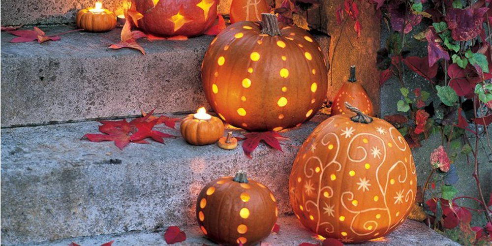 Pour Halloween, pourquoi décorer une citrouille ?